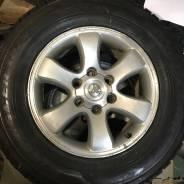 """Комплект колёс зима Прадо 120. 7.5x17"""" 6x139.70 ET30 ЦО 110,1мм."""