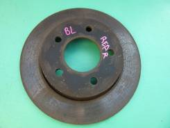 Диск тормозной задний Mazda 3, Axela, BL. C24Y-26-251C