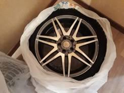 "18 диски AMG + зимняя резина Michelin. 7.5x18"" 5x112.00 ET47 ЦО 112,0мм."