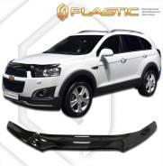 Дефлектор капота Chevrolet Captiva C140 2012–н. в. (Мухобойка)