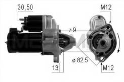 Стартер. Volkswagen Passat, 3B2, 3B3, 3B5, 3B6, 3C2, 3C5, 3A2, 362, 365, A32 Volkswagen Golf, 1G, 5K1, 1H1, 1H5, 517, 1J5, 1J1, 19E, 1E7, 1K1, 1K5 Vol...
