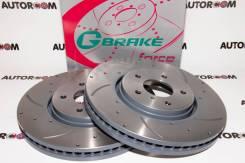 Диски тормозные перфорированные G-brake GFR-21009 (Передние)