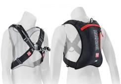 Рюкзак с поилкой Moab Rock черно красный 201301