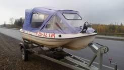 Лодка с прицепом