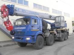 КС 55729-5В автокран с доп. противовесом 32т.(КАМАЗ-63501) ОВОИД, 2019