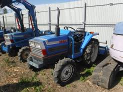 Iseki. Трактор 25л. с.,3 цилиндра, Реверс, 4wd, ВОМ, навеска на 3 точки, 20 л.с.