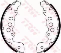 Колодки тормозные барабанные. Suzuki Escudo, TA02W, TA52W, TD02W, TD32W, TD52W, TD62W, TL52W Suzuki Vitara Suzuki Grand Vitara MG GS Mazda Proceed Lev...