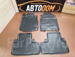 Модельные коврики в салон Honda CR-V 2012г + (полиуретан)