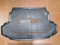 Модельный коврик в багажник Toyota Fielder 140к 2006-2012 (полиуретан)