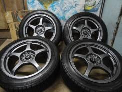 """Продам Редкие Спорт колёса A-TECH Schneider+Зима 205/50R17. 7.5x17"""" 5x100.00, 5x114.30 ET53"""
