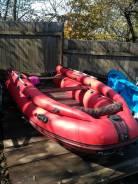 Лодка под водомёт и винт.