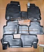 Коврики в салон Honda Odyssey 1999-2003г 3ряда (полиуретан)