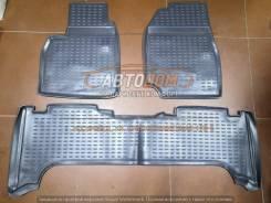 Коврики в салон Toyota Land Cruiser 100 1998-2007г (полиуретан)