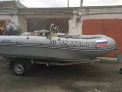 Лодка катамаран Ротан-420м