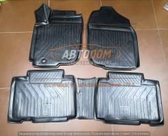 Модельные штатные коврики в салон Toyota RAV-4 с 2013г (полиуретан)
