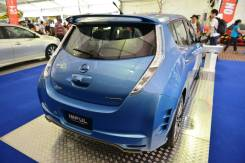 Спойлер багажника. Nissan Leaf