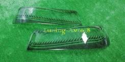 Защита на фары ( очки ) шелкография ВАЗ 2110, 2111, 2112 с/пов