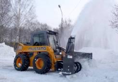 Продается снегоочиститель шнеко-роторный для минипогрузчика Мустанг