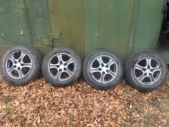 "Комплект колес на зимней резине. 6.5x16"" 5x114.30 ET46 ЦО 67,1мм."