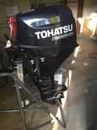 Tohatsu. 9,80л.с., 4-тактный, бензиновый, нога S (381 мм), 2014 год