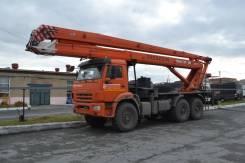 Пинский завод СММ ПМС-328-04. Автогидроподъемник ПМС-328-04, 28,00м. Под заказ