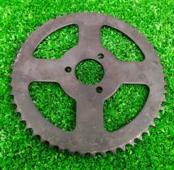 Звезда задняя 54т, для маленьких китайских квадроциклов 49сс