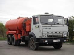 КамАЗ 53213. Каналопромывочная машина КО-504 на шасси , 10 850куб. см.