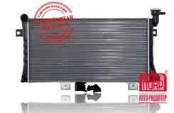 Радиатор охлаждения двигателя. Лада 4x4 2121 Нива