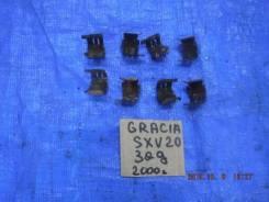 Пружина прижимная тормозной колодки задняя правая левая комплект Toyota Camry Gracia 5SFE SXV20 04948-32040