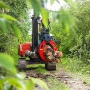 Захват для леса гидравлический на Hitachi, Hyundai, CAT