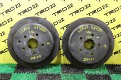 Диски тормозные Lexus RX350/GGL15 задние, ПАРА, Оригинальные!