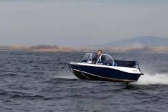 "Катер ""Салют-480M Explorer"" +Мотор лодочный Mercury ME-50 Elpto"