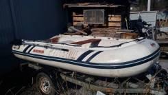 Лодка надувная ПВХ с алюминиевыми паелами Suzumar DS 320 бу цена 20000