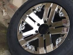 Хром на Toyota Land Cruiser Prado ИТД