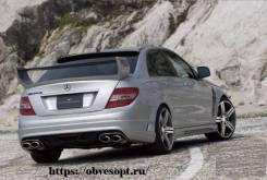 Спойлер на заднее стекло. Mercedes-Benz C-Class, W204