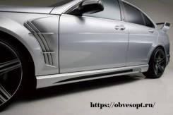 Накладка на порог. Mercedes-Benz C-Class, W204
