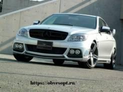 Обвес кузова аэродинамический. Mercedes-Benz C-Class, W204