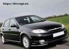 Обвес кузова аэродинамический. Chevrolet Lacetti