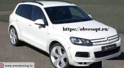 Обвес кузова аэродинамический. Volkswagen Touareg