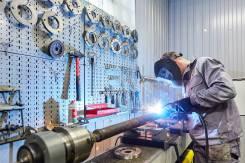 Токарные работы ремонт карданов проточка валов втулок пресс 60т токарь