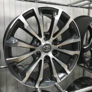 R18 6х139,7 ET25 j7,5 Toyota/Lexus Графит/полировка