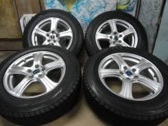"""Продам Редкие Стильные колёса Bridgestone FEID+Зима Жир 225/65R17. 7.0x17"""" 5x114.30 ET38"""