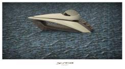Концепт катера от итальянских дизайнеров