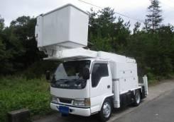 Isuzu Elf. Отличная Автовышка 15 метров 2004 г, 15,00м. Под заказ
