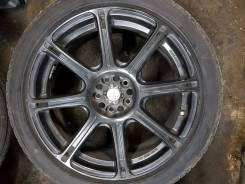 "Комплект колес 225/45 R18 Bridgestone Potenza WORK Emotion XC8. 7.5x18"" 5x100.00 ET49 ЦО 56,1мм."