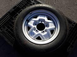 """Одно запасное колесо Suzuki R16. 5.0x16"""" 5x139.70 ЦО 108,0мм."""