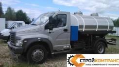 ГАЗ ГАЗон Next. Автоцистерна для перевозки живой рыбы НА Шасси Газон Некст, 4 430куб. см., 4 000кг., 4x2