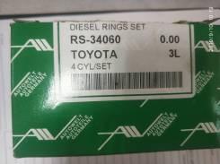 Кольца поршневые. Toyota: Regius Ace, Land Cruiser, ToyoAce, Quick Delivery, Hiace, Land Cruiser Prado, Dyna, 4Runner, Hilux 3L, 1FZF, 1FZFE, 1HDFTE...