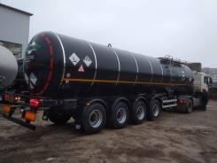 Foxtank. Битумовоз полуприцеп цистерна Фокстанк 32 м. куб 4 оси, 30 000кг.