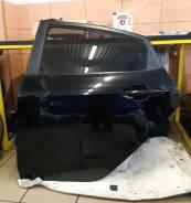 Дверь оригинальная задняя левая Kia Rio III [2011-2017] (чёрная MZH)